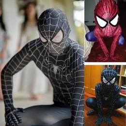 $enCountryForm.capitalKeyWord Australia - ostumes Accessories Costumes spandex original high quality the amazing zwarte spiderman costume adult black kids 3d girl homecoming sui...