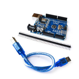 Usb development board online shopping - UNO R3 Development Board CH340G MEGA328P Chip Mhz For Arduino UNO R3 USB CABLE With Straight Pin Header