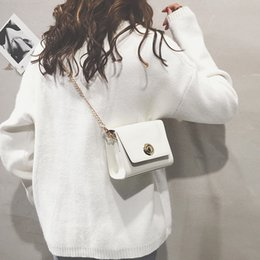 Fairy chain online shopping - Lucky2019 Bag Small Summer Woman Joker Single Shoulder Satchel Ins Exceed Wax Skin Chain Fairy Package