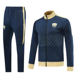 jackets tracksuits Australia - 2019 2020 Mexico Club America Jacket Training Suit 19 20 GUERRON CALDERON CASTILLO football Cougar UNAM Football Jackets tracksuit