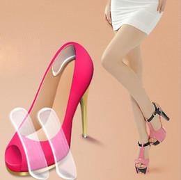 $enCountryForm.capitalKeyWord Australia - New Fashion Insoles for Shoes Silicone Gel Heel Cushion protector Shoe Insert Pad Insole drop ship