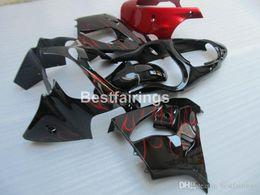 $enCountryForm.capitalKeyWord Australia - New hot moto parts Fairing kit for Kawasaki Ninja ZX9R 2000 2001 red flames black bodywork fairings set ZX9R 00 01 JK37 +7Gifts
