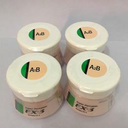 Venta al por mayor de Noritake ex-3 ex3 Cuerpo porcelana en polvo Cerámica A1B A2B A3B A3.5B A4B nA1B nA2B nA3B nA3.5B nA4B .... etc 50g Materiales dentales Envío gratis