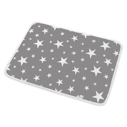 kids diapers UK - Baby Infant Washable Diaper Nappy Urine Mat Kid Waterproof Bedding Changing Pads Covers Starry Sky Printed Baby Changing Pad