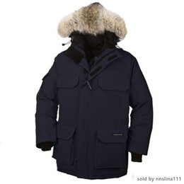 winter parka jackets for men Australia - Canada Warm Manteau Fur Hooded Thick Winter Men Goose Down Jacket for Canada Male Chaquetas Overcoat Man Outwear Expedition Parka