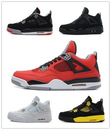 $enCountryForm.capitalKeyWord Australia - 2019 Bred 4 Basketball Shoes 4s Pale Citron Pizzeria Lightning Singles Day Tattoo LASER Hot Punch Oreo Mens Sports Sneakers 7-13