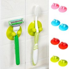 Wholesale 2Pcs Multi function Vacuum Powerful Suction Cup Kitchen Bathroom Wall Hook Hanger Household Items Kitchen Towel Hooks