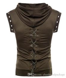 $enCountryForm.capitalKeyWord Australia - Brand designer men bo ss hoodie new personality woven sleeveless mens T-shirt European and American fashion trend mens sweater