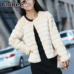 $enCountryForm.capitalKeyWord Australia - 6XL Women Ladies fur Coat Parka Outerwear Black white pink Short Furry Winter Faux Fur Short Long Jacket Overcoat