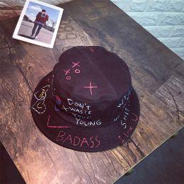 3c28a23be1d7b Hip Hop Bucket Hats Australia - Unisex Harajuku Bucket Hat Fishing Outdoor  Panama hip hop Cap