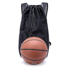 Large drawstring backpack online shopping - Large Basketball Bags For Balls Soccer Drawstring Mash Pack Fitness Bucket Bag Outdoor Basketball Backpack For Men Baketball
