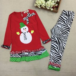 $enCountryForm.capitalKeyWord Australia - Toddler Christmas Outfit Two Pieces Winter Baby Girls Clothes Dress and Pant Cotton Infant Christmas Outfit for Girls