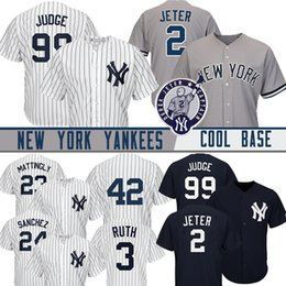 648d36122162 99 Aaron Judge 2019 New York Jersey Yankees Hombres 2 Derek Jeter 23 Don  Mattingly 25 Gleyber Torres 7 Mickey Mantle Béisbol Jersey