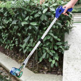 Discount extending stick 82cm Foldable Garbage Pick Up Tool Grabber Reacher Stick Reaching Grab Claw Gripper Extend Reach Kitchen Home Tool Garde
