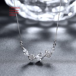$enCountryForm.capitalKeyWord NZ - Women's Wedding Flower Plant Necklace Swarovski Elements Necklaces For Women Animal Necklaces Wings Gift Agate Pendants Silver Necklace