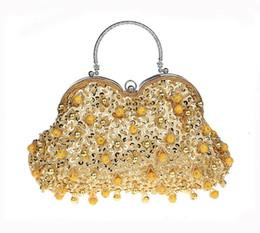 $enCountryForm.capitalKeyWord Australia - 2019 New Design Women Evening Bags Handmade Beaded Diamonds Design Clutches For Party Dinner Purse WY208
