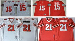 $enCountryForm.capitalKeyWord Australia - New Ohio State Buckeyes #15 Ezekiel Elliott Atlanta 21 Deion Sander 10 Mitchell Trubisky College American Football Uniforms Sports Jerseys