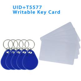 $enCountryForm.capitalKeyWord Australia - Read and Write UID Changeable NFC Tag Keyfob Token T5577 EM4305 Rewritable 125KHz 13.56MHz RFID Writable Access Key Card Copy