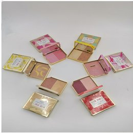 shimmer highlight makeup Canada - DHL Makeup 6 colors Eyeshadow Faced Tutti Frutti Fruit Cocktail Blush Duo Highlight Bronzer Eye Shadow Powder Eyeshadow Too Cosmetics