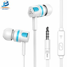 Iphone androId mobIle online shopping - PTM T2 sports headphone in ear cable control with microphone earplugs ios Android universal mobile phone headset