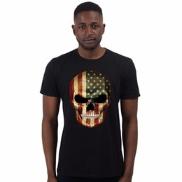 b4df593c3 Sugar Skull Evil Union Jack Day Of The Dead Skull Candy Biker Mens T Shirt  #1 Cool Casual pride t shirt men Unisex