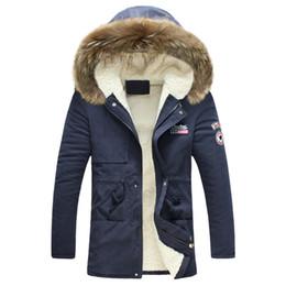 $enCountryForm.capitalKeyWord NZ - Men's winter jacket 2019 New The designer Fashion Windproof Warm Wool Liner Winter jacket Men Hooded Parka Men Coat
