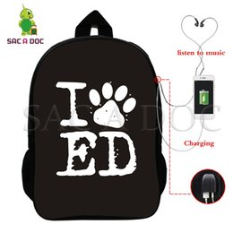laptop i 2019 - I Love ED Sheeran Backpack Multifunction USB Charging Laptop Backpack for Teens Women Men Fans Daily Bags School Travel