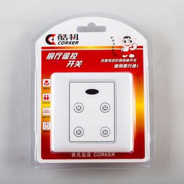 Remote Light Switch Receiver Australia - Exhibition Hall Infrared Remote Control Switch 220V Smart Lighting Remote Controller 4 Ways Remote Control Transmitter Receiver with Manual