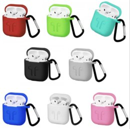 $enCountryForm.capitalKeyWord Australia - Protective Cover for Airpods link cable Bluetooth Wireless Earphone Silicone Case Waterproof Anti-drop strap Accessories mix color