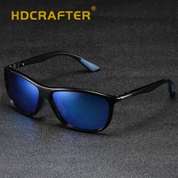 d024874ad83 HDCRAFTER Fashion Polarized Sunglasses Men Luxury Brand Designer Vintage Driving  Sun Glasses Male Eyewear Oculos Gafas UV400