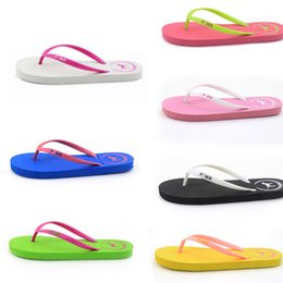 $enCountryForm.capitalKeyWord Australia - Summer Love Pink dog Flip Flops Beach Pools Slippers Shoes For Women Casual PVC Home Bath Sandals Casual Slippers AA1960