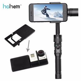 Gopro sjcam kit online shopping - Freeshipping Axis Handheld Gimbal Stabilizer for action camera phone iphone For GoPro SJCAM xiaomi yi k vs OSMO zhiyun smooth Q