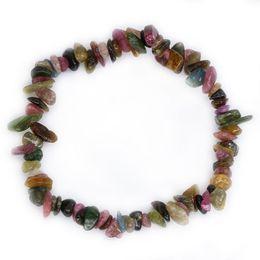 $enCountryForm.capitalKeyWord Australia - 100% Real Natural Healing Stones Peridot Aquamarine Crystal Amethyst Tourmaline Moonstone Bead Bracelet DIY Jewelry NSL001