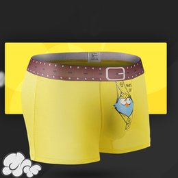 $enCountryForm.capitalKeyWord Australia - Fashion-Brand Panties 4Pcs lot Mens Underwear Boxers Modal Cute 3D Printed Cartoon Funny Boxer Shorts for Men Shorts Homme Cuecas