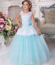 $enCountryForm.capitalKeyWord Canada - New Style Princess Pageant Flower Girl Dress Kids Wedding Party Birthday Bridesmaid Tutu Children Prom Ball Gown GNA44