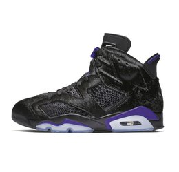 cheap purple shoes for men UK - Cheap Mens Jumpman 6 VI basketball shoes 6s CNY Firework Floral Social status Flint Oreo Black Gold AJ6 sneakers with box for sale