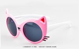 Kid Sunglasses Sale Australia - New Hot Sale High Quality Kids UV Sunglasses Cat Eye Sunglasses Brand Designer Retro Cute For Children 1208 24pcs Lot Free Shipping
