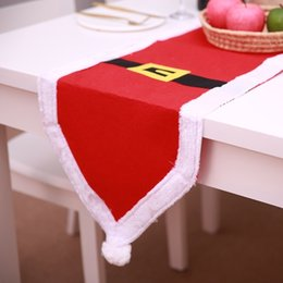 $enCountryForm.capitalKeyWord Australia - 180cm*35cm 2020 New Year Table Flag Decoration Santa Cutlery Holder Xmas Bag Home Party Table Christmas Restaurant Decoration