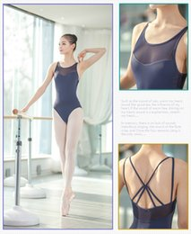 sexy ballet dancing NZ - Ballet Leotards For Women 2019 New Of Summer Daily Exercise Dancewear Adult Dance Costumes Sexy Back Ballet Gymnastics Leotard