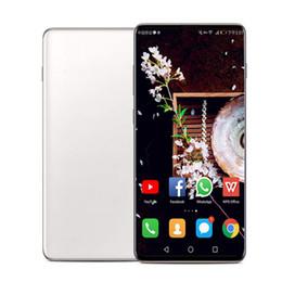 Unlocked Gsm Touch Screen Phones Australia - Goophone AS10 Plus 10+ 6.3 inch Quad Core MTK6580 Android 9.0 GSM WCDMA Phone 1GB RAM 8GB ROM 8MP Unlocked SmartPhone