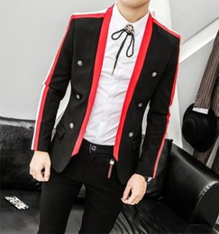$enCountryForm.capitalKeyWord Canada - Mens Needle Mens Korean Version Of The Suit Jacket Slim Star With The Paragraph Casual Suit Dress Small Tide M-2XL