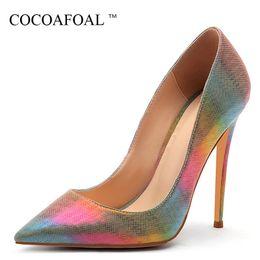 $enCountryForm.capitalKeyWord NZ - Cocoafoal Women's High Heels Bride Shoes Woman Valentine Shoes Multicolour Sexy Chaussures Femmes De Luxe De Marque Pumps Heels