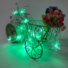 string light garland wholesale NZ - Christmas Decorations 6M Natal Christmas Led String Lights Decorative Garland Snow Lights Tree Decorations