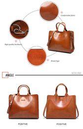 $enCountryForm.capitalKeyWord NZ - ACELURE Leather Handbags Big Women Bag High Quality Casual Female Bags Trunk Tote Spanish Brand Shoulder Bag Ladies Large Bolsos