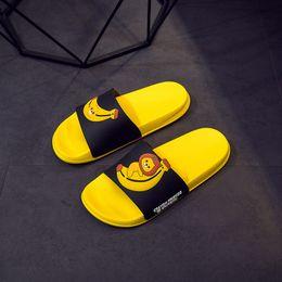 $enCountryForm.capitalKeyWord Australia - Summer cute cartoon Slippers women home indoor bathroom fruit flip flops women slippers Non-slip beach slides chanclas mujer