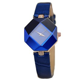 China 2019 Elegant Top Brand FASHION Women Watches Leather Quartz Dress Clock Unique Design Women Wrist Watch Montres Femme Hot Sale #1 cheap unique shaped watches suppliers