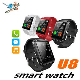 smart watch altimeter android Canada - Bluetooth U8 Smartwatch Wrist Watches With Altimeter For iPhone 7 Samsung S8 Android Phone Smart Watch With Retail Package