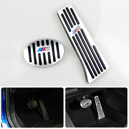 $enCountryForm.capitalKeyWord NZ - No Drill Gas Brake Pedal For BMW X1 F48 1 2 Series F52 F46 Auto Aluminum gas accelerator pedal and brake pedal with M Logo