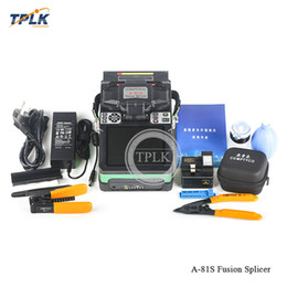 splicer machine Australia - Hot sale A-81S fiber optic fusion splicer Fully Automatic Fusion Splicer Machine high quality best price