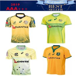 Vente en gros 2018 2019 AUSTRALIA maillot de rugby 18 19 NRL maillot chemise wallabies shirts s-3xl